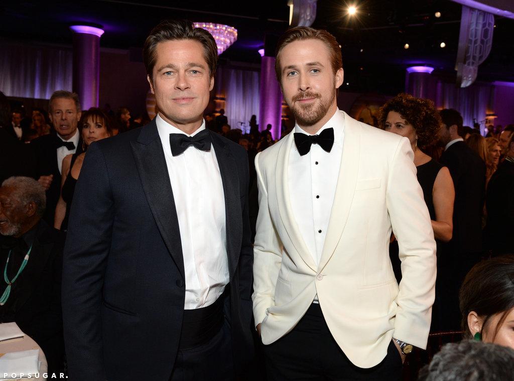 Brad Pitt Ryan Gosling nearly gave us heart palpitations snap e8c4a