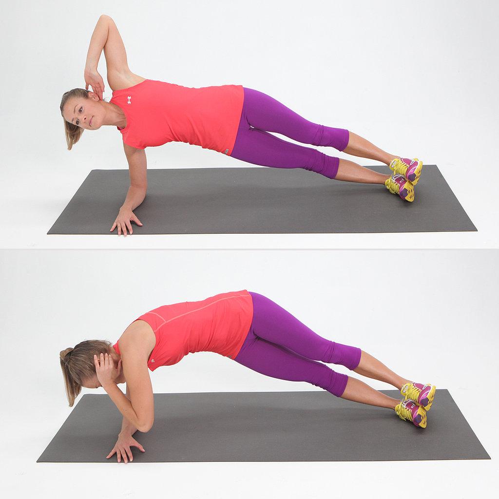 Side Elbow Plank Twist aacf1