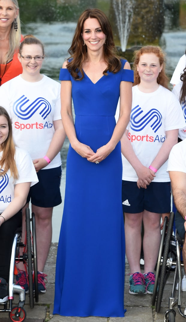 kate middleton blue dress 87f19