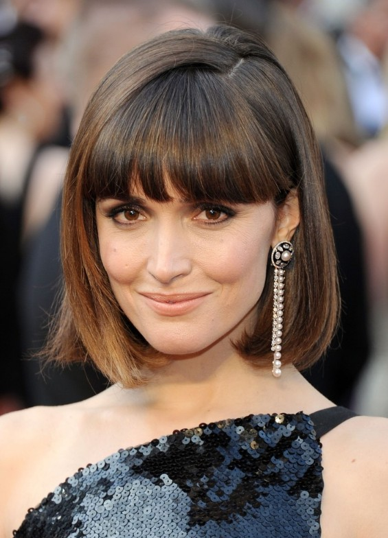 Cute short pageboy hairstyle