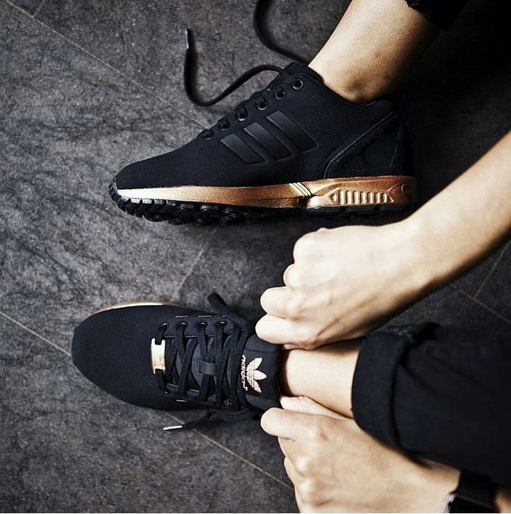 adidas zx flux copper black gold