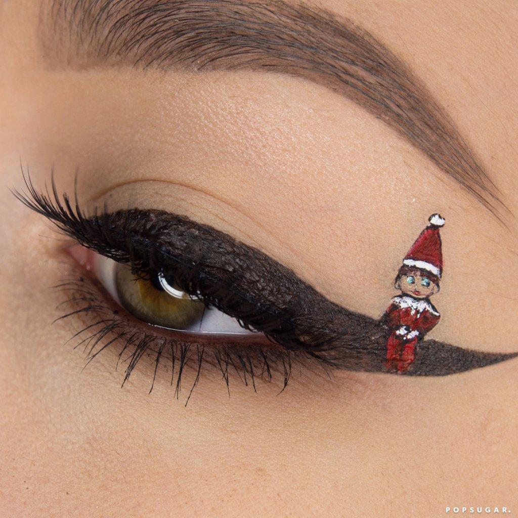 Elf Shelf Eyeliner Art