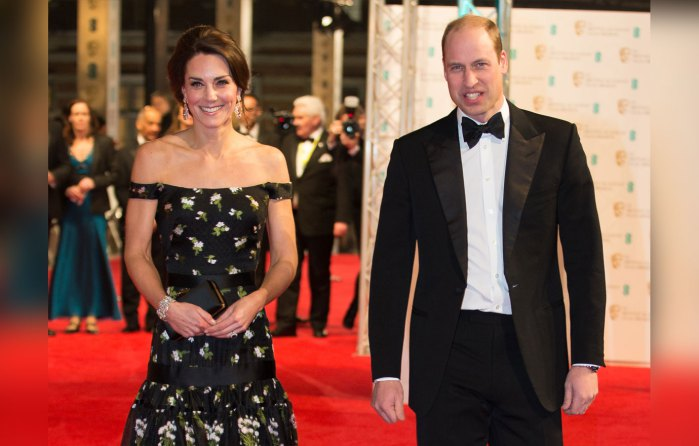 kate middleton scary skinny prince william baftas 7