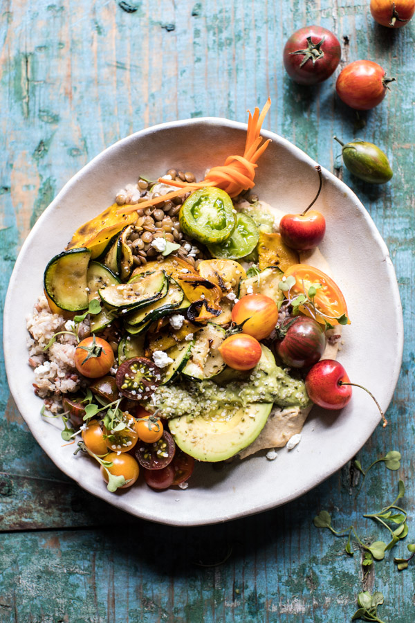 Summer Harvest Veggie and Avocado Quinoa Bowl 1