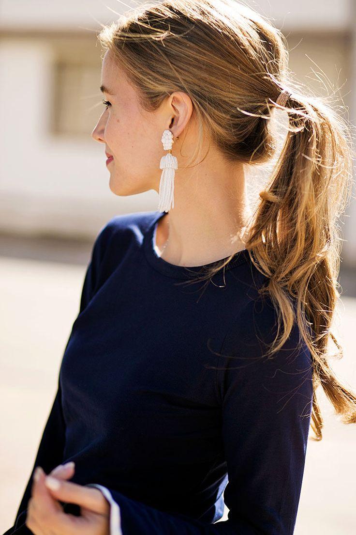 36404c1eabfd9f5480a79357c34146f6 statement earrings outfit tassel earrings