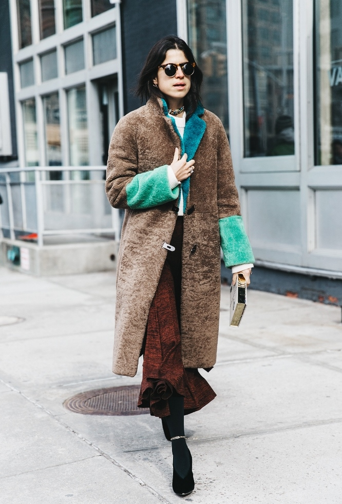 NYFW New York Fashion Week Fall Winter 17 Street Style Man Repeller Leandra Medine 1