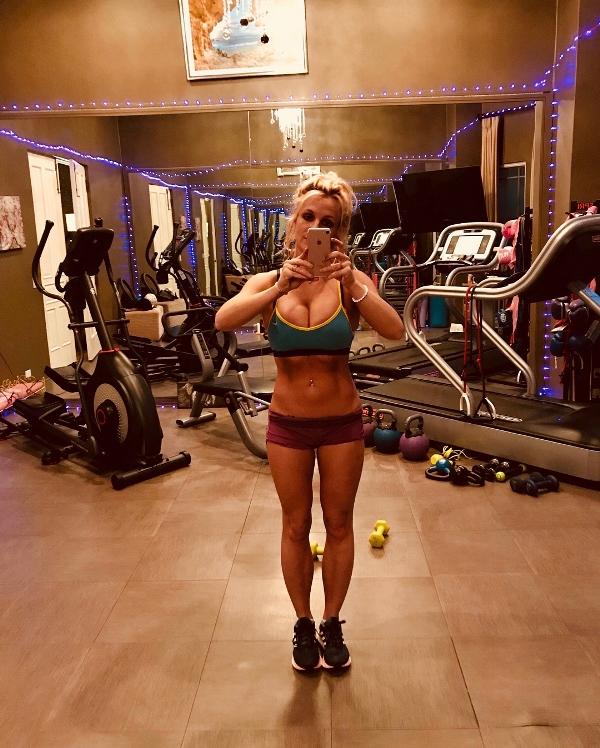 Britney spears gym pics instagram 3 Copy
