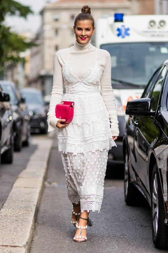 nina schwichtenberg street style layered dress copy
